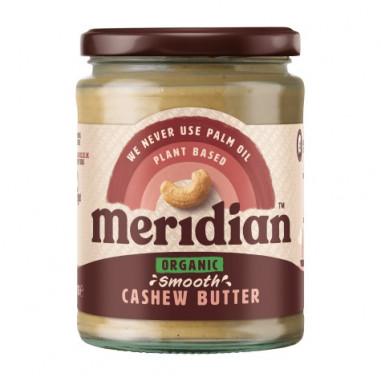 Beurre de cajou mou bio Meridian 170g