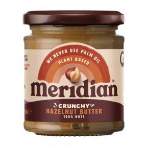 Beurre de noisette croquant Meridian 170g