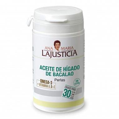 Cod Liver Oil Ana María Lajusticia 90 pearls