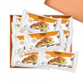 Pack 40 Croissant Salé CiaoCarb Protobrio Phase 2 Sucré Naturel 1 unité 50 g