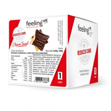 FeelingOk Choco Toast Start 200g