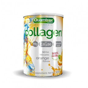 Collagène au Magnésium saveur Orange Quamtrax 300g en poudre