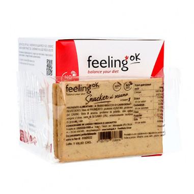 FeelingOk Snacker torrada lowcarb com gergelim Start 50g