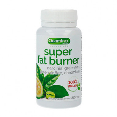 Quemagrasas Super Fat Burner Essentials Quamtrax 60 cápsulas