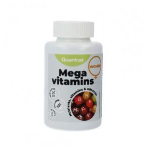 Multivitamínico Mega Vitaminas para Mujeres Essentials Quamtrax 60 comprimidos