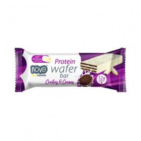 Barquillos Crujientes Sabor Galleta y Crema Protein Wafer de Novo Nutrition 40g