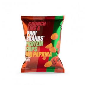 Chips de Proteína com Sabor BBQ e Páprica Pro!Brands 50g