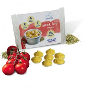 Mini Cookies Salgados Snack Zero Sabor de Orégano de Nuvola Zero 20g