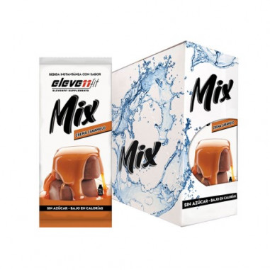 Pack of 24 Envelopes ElevenFit Caramel Flavor Mix Drinks 9g