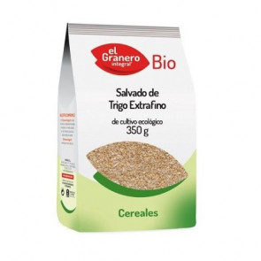 Salvado Extrafino de Trigo Integral Ecológico El Granero Integral 350g