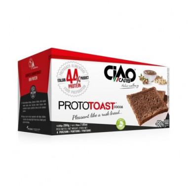 Torradas com Sabor de Cacau Prototoast Fase 1 CiaoCarb 200g