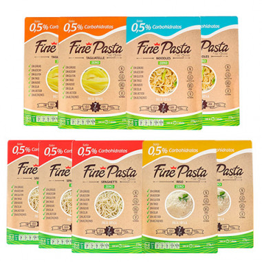 Pack Principiantes Fine Pasta (9 Paquetes)