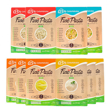 Fine Pasta Basic Pack (10 packages)
