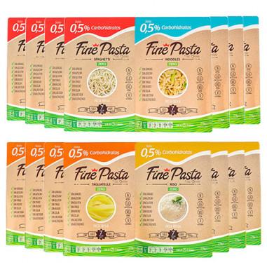 Pack Medium Fine Pasta (16 paquets)