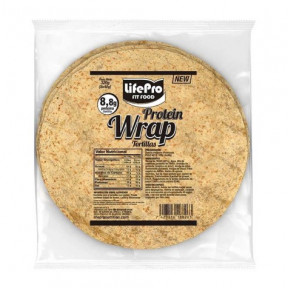 Protein Wraps Fit Food Life Pro 320g (8x40g)