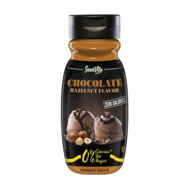 Sirop de Chocolat et Noisette 0% Servivita 320 ml