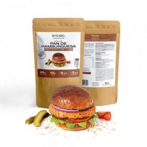 Mélange de Pain à Hamburger Low Carb de Bocado Functional Foods 1kg