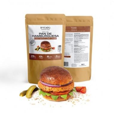 Preparado para Pan de Hamburguesa Low Carb de Bocado Functional Foods 1kg