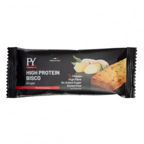 Protein biscuit High Protein Bisco Ginger Pasta Young flavor 37g free with orders over € 39