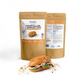Pãezinhos e Baguetes Mix Low Carb por Bocado Functional Foods 500g