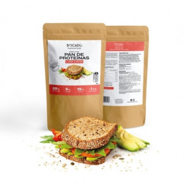 Bocado Functional Foods Low Carb Low Carb Protein Bread Mix 1kg