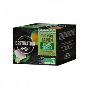 Chá Verde Japonês Grand Sencha Destination 20 pcs.