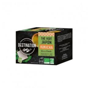 Té Verde Japonés Kukicha Destination 20 uds.