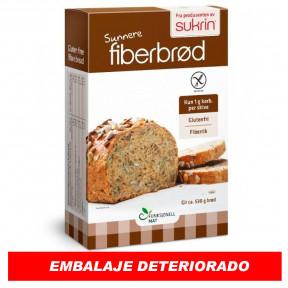 Preparado para Elaborar Pan Rico en Fibra con Semillas (Fiberbrød) Sukrin 250g