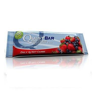 Quest Bar Protein Sabor Frutas del Bosque