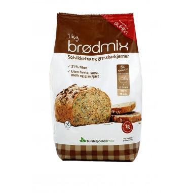 Bread Mix Sunflower and Pumpkin Seeds Sukrin 1 kg