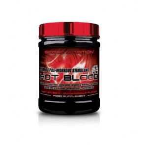 Créatines Hot Blood 3.0 de Scitec Nutrition Orange Sanguine 820 g