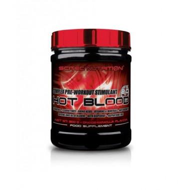 Hot Blood 3.0 Complexe Stimulant Pre-Entraînement Goût Orange sanguine, Scitec Nutrition