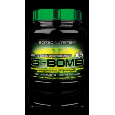 Glutamine G-BOMB 2.0 Scitec Nutrition - Thé Glacé