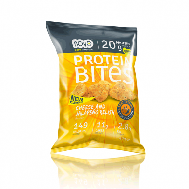 Protein Bites - Bocaditos Chips Queso y Jalapeños 40g