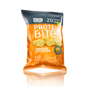 Protein Bites Picadas Chips de Proteína Frango Grelhado 40 g