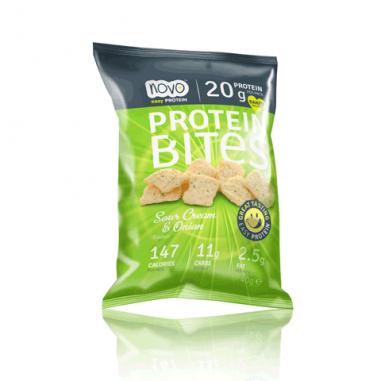 Protein Bites - Picadas Chips de Proteína creme ácido e cebola 40g