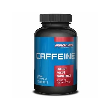 Capsules de Caféine Pure Prolab 200 mg
