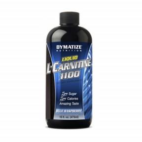 L-Carnitine 1100 Liquide Dymatize Goût Framboise 473 ml