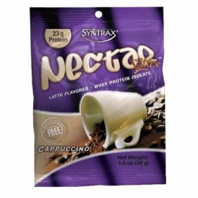 Syntrax Nectar Grab N'Go Whey Protein Isolate Cappuccino 28 g
