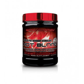 Hot Blood 3.0 Complejo Estimulante Pre-Entrenamiento Sabor Naranja, Scitec Nutrition