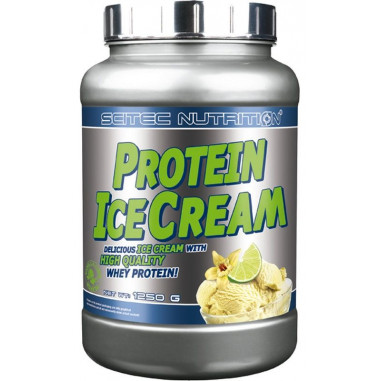 Protein Ice Cream vanille - citron vert Scitec Nutrition 1250g
