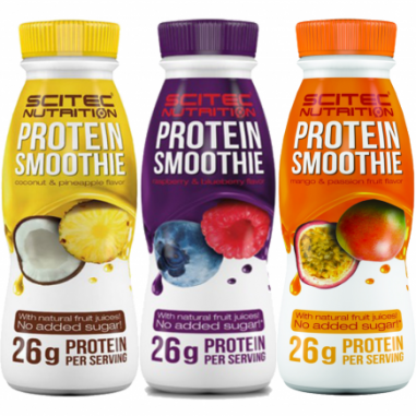 Shake Protéiné Framboise et Myrtille de Scitec Nutrition
