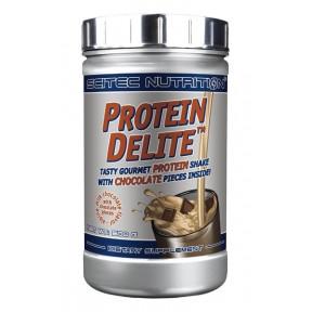 Shake Protéiné Protein Delite avec morceaux goût Chocolat au lait de Scitec Nutrition 500 g