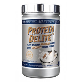 Almond Coconut Protein Delite Protein Shake with fruit pieces Scitec Nutrition