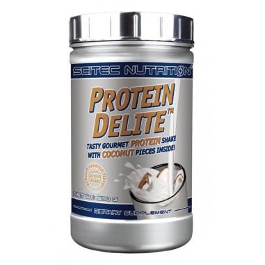Shake Protéiné Protein Delite avec morceaux goût Amande et noix de coco de Scitec Nutrition 500 g