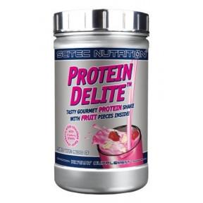 Shake Protéiné Protein Delite avec morceaux goût Fraise et Chocolat Blanc de Scitec Nutrition 500 g
