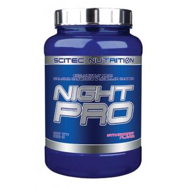 Scitec Nutrition Night Pro Fraise 900g