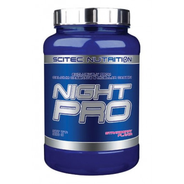 Scitec Nutrition Night Pro Morango 900g