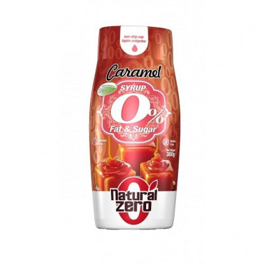 Caramel Syrup Natural Zero 300g