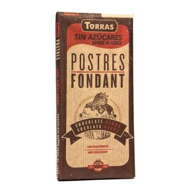 Chocolate Preto Fondant Torras 200g